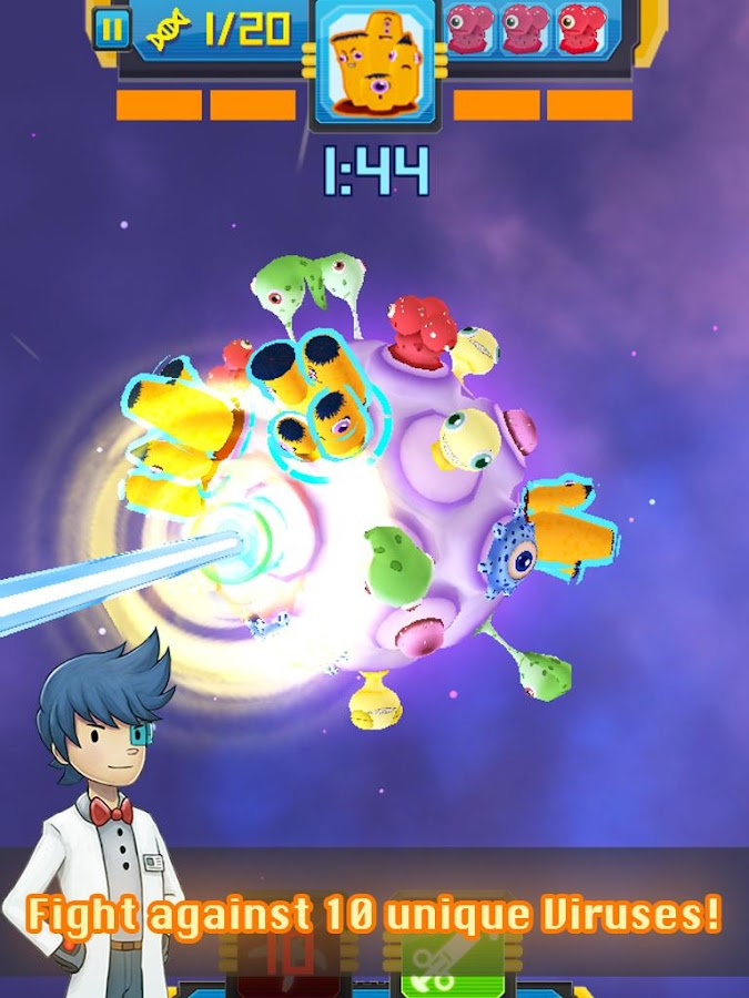 Cell Surgeon - 3D Match 4 Game Screenshot 8
