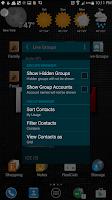 Screenshot of Live Groups