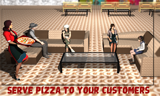 Pizza Delivery Girl Restaurant - screenshot