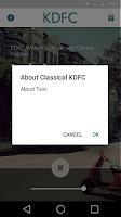 Screenshot of Classical KDFC