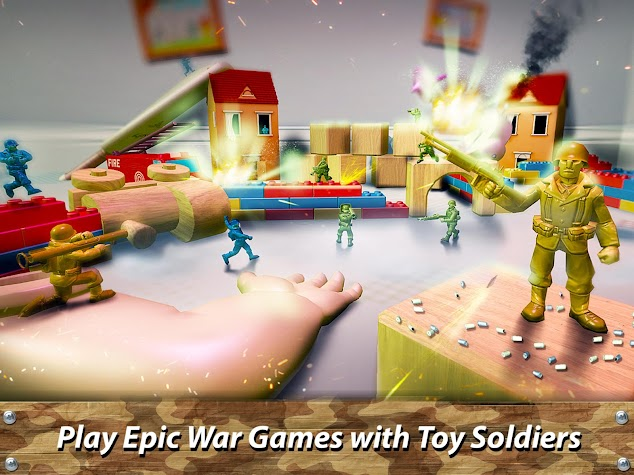 🔫 Toy Commander: Army Men Battles Screenshot