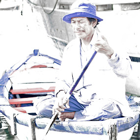 Fishermen by Basuki Mangkusudharma - People Street & Candids ( fishermen )