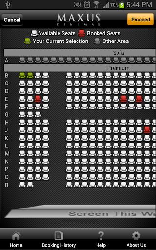 Maxus Cinemas screenshot 5