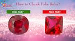 Natural Ruby ( Manik) gemstone at Wholesale Price