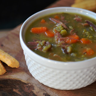 Lazy Ham and Split Pea Soup