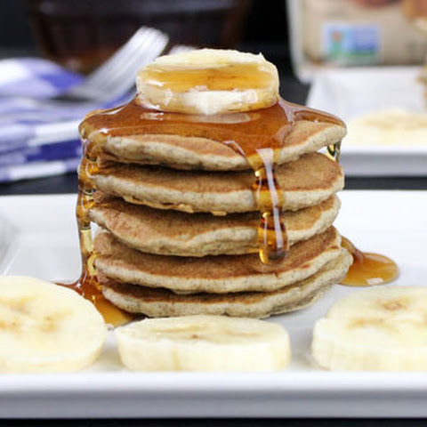 Banana Buttermilk Buckwheat Pancakes