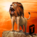 Angry Lion Simulator 3D Icon