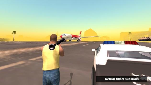 San Andreas Grand City Crime apk screenshot