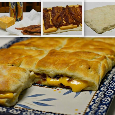 Stuffed Bacon and Cheese Biscuits