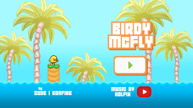 Birdy McFly : Run And Fly Over It! APK screenshot thumbnail 1