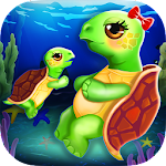 Turtle Mommy New Baby is Born! 1.0 Apk