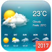 Download Weather & Clock Widget Free APK on PC