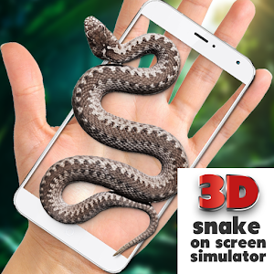 Snake on Screen Joke app for android