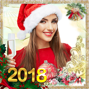 Happy New Year Photo Frames 2018 For PC