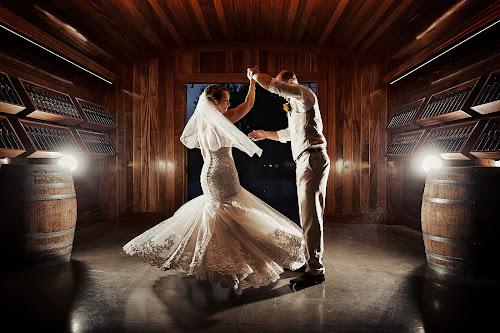 Dancing in a vineyard by Joseph Humphries - Wedding Bride & Groom ( dancing, backlight, wedding, beautiful, spin, bride, rustic, groom )