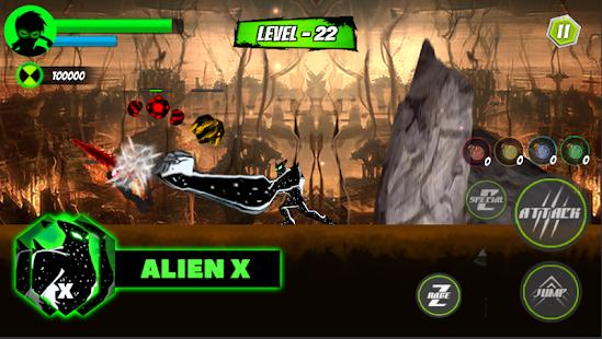Abenteuer Ben Hero - Ultimate Alien X Transform android spiele download