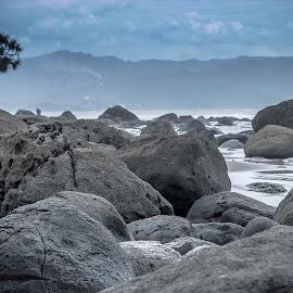Like A Rock by Dimas AJ - Landscapes Beaches
