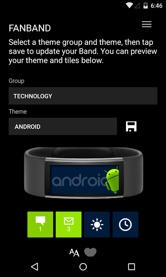 fanband Screenshot
