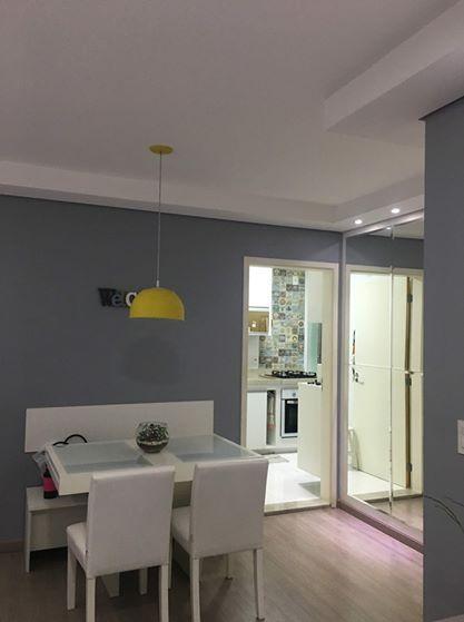 Apartamento com 2 dormitórios à venda, 54 m² - Residencial Imperator - Retiro - Jundiaí/SP