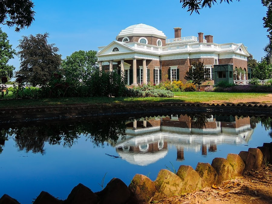Monticello by John Ogden - Buildings & Architecture Public & Historical ( monticello, american history, jefferson, virginia )