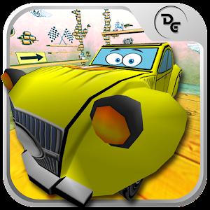 Cover art Cartoon Racing