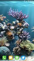 Screenshot of Underwater World Livewallpaper