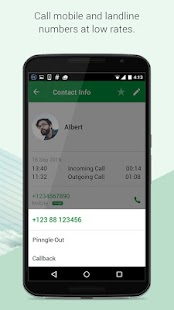 App Pinngle Messenger - Free Calls apk for kindle fire
