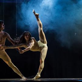 Couple dance by Vladislav Matvienko - People Musicians & Entertainers ( concert, ukraine, couple, stage, dance )