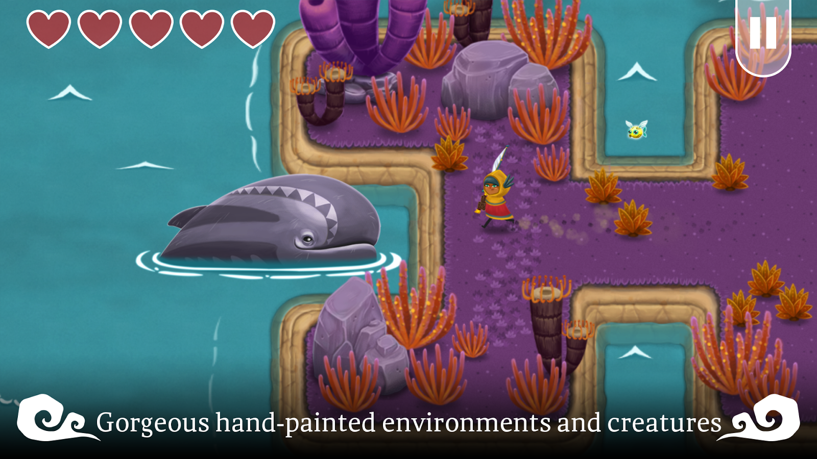 Legend of the Skyfish Screenshot 2