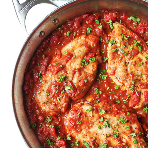 Roasted Red Pepper and Tomato Chicken