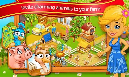 Farm Town: Cartoon Story APK for Bluestacks