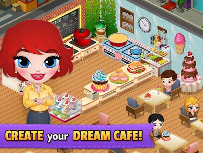 Cafeland world kitchen mod apk unlimited money v1 7 0 for Kitchen queen mod apk