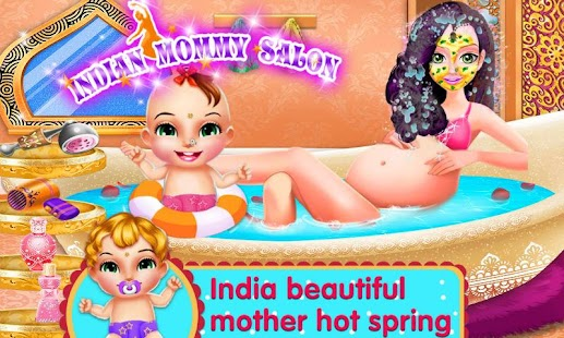 Indian Mommy Salon