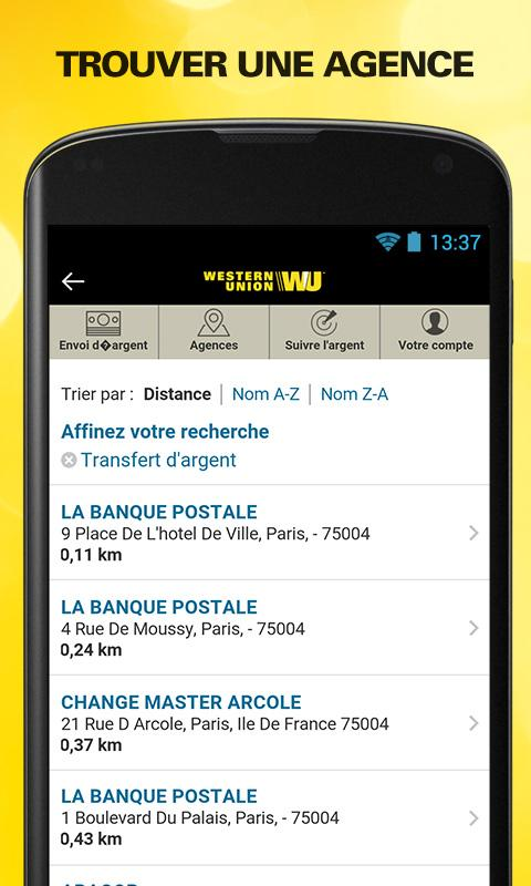 Send money with Western Union Screenshot 2