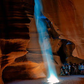 Antelope Canyon by Stanley P. - Landscapes Caves & Formations ( antelope_canyon, rocks, light )