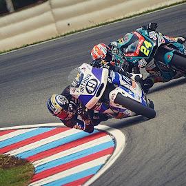 Who is faster? by Jiri Cetkovsky - Sports & Fitness Motorsports ( brno, moto2, masaryk circuit, grand prix, race )