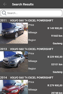 CMH Volvo Cars Pretoria - screenshot