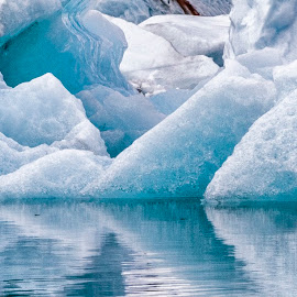 Snow and ice by Stanley P. - Landscapes Caves & Formations ( waterscape, formations, landscape, landscapes )