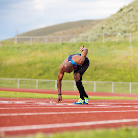 Track and Field by Kristin Cheatwood - Sports & Fitness Running ( running )