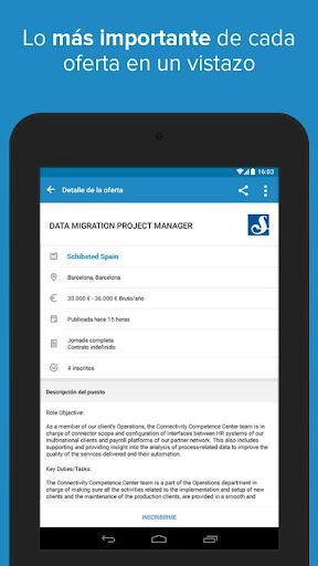 InfoJobs - Job Search screenshot 21
