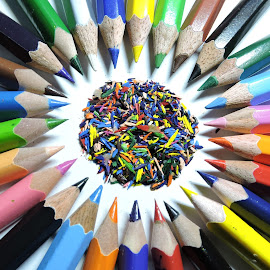 Pencils  by Kambala Rajesh - Artistic Objects Education Objects