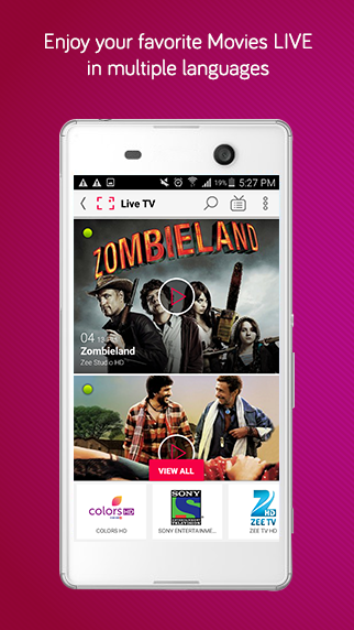dittoTV: Live TV shows channel Screenshot 4