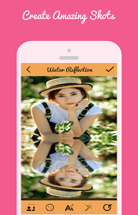 Water Reflation Photo Effect - screenshot