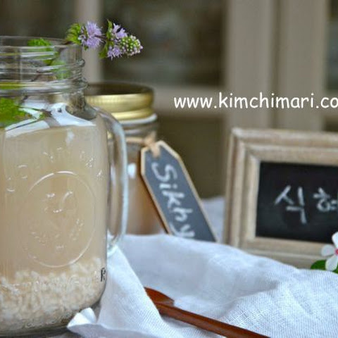 Sweet Rice Punch (Sikhye 식혜)