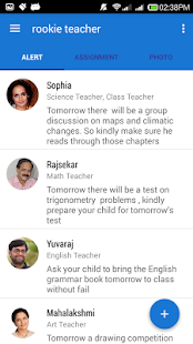 Rookie Teacher App - screenshot