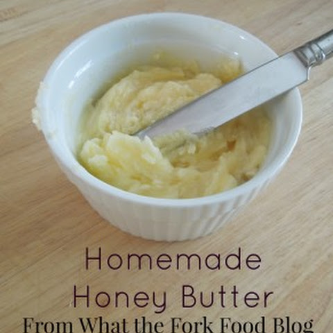Homemade Honey Butter