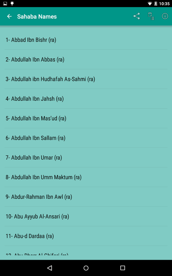 Stories of Sahaba Screenshot 15