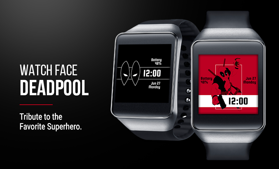 Deadpool Watch Face Screenshot 4