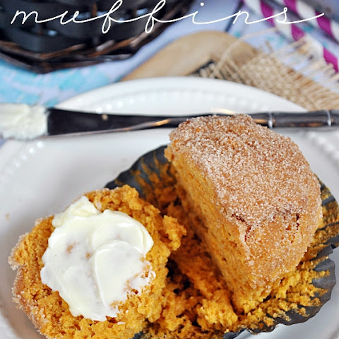 Pumpkin Pudding Muffins