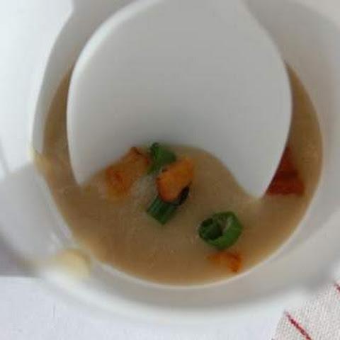 Sunchoke and Potato Soup